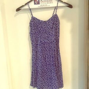 Express fit and flair dress